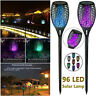 Waterproof 96 LED Flickering Flame Solar Torch Light Outdoor Garden Lawn Lamp