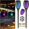 Waterproof 96 LED Flickering Flame Solar Torch Light Outdoor Garden Lawn Lamp