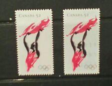 Canada 2008 Beijing olympics 1 mint 1 used