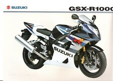 Suzuki UK sales brochure GSXR1000 GSXR1000K4 2004 model
