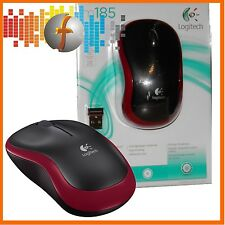 Mouse WIRELESS LOGITECH 185 Wireless Rosso // packetversand // MOUSE MOUSE WIRELESS