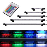 Submersible LED Light Bar Lamp 5050 SMD RGB Colour fr Aquarium Fish Tank 19-59cm