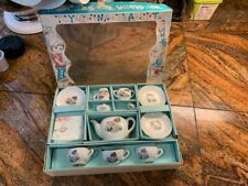 Child's China 12 pc Tea Set  Made in Japan Complete w/ box.