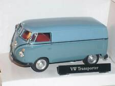 VW Volkswagen Kasten Transporter Blau Bully T1 T 1 1/43 Cararama Modell Auto Mod