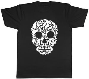 Skull Head Gothic Unisex Mens Womens Ladies T-Shirt Tee