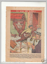Mulhouse Judo Cambriolage Bijouterie Coiffeuse Mazarian 1951 France ILLUSTRATION