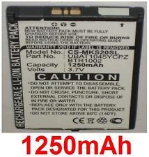 Batterie 1250mAh type BTR1003 UBAT1046YCPZ Pour Sharp PB20ZU, Microsoft Kin Two