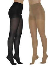 Stützstrumpfhose Strumpfhose matt Damen Figurformende 100den