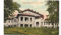 Tarrytown NY Vintage Postcard Hospital Antique Demolished Building Rare Unused