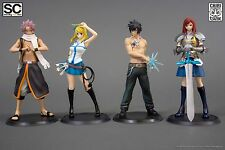 FAIRY TAIL STANDING CHARACTERS CHIBI FULL SET FIGURES TSUME NEW