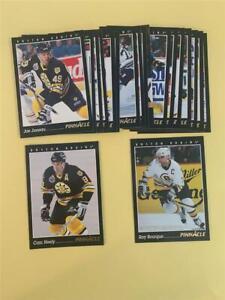 1993/94 Pinnacle Boston Bruins Team Set 19 Cards
