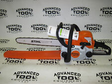 """NEW Stihl MS170 Gas Commercial Grade Chain Saw Chainsaw 16"""" Rollomatic Bar"""