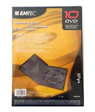EMTEC EKBIDV10X BUNDLE 10 SIMPLE DVD CASE CUSTODIA COVER