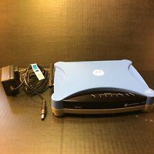 Netopia Qwest Motorola 3347 4-Port 10/100 54 Mbps Wireless G DSL Modem Router