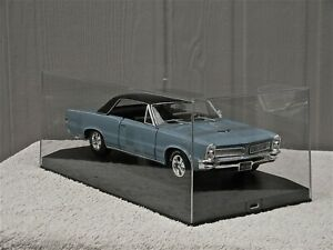 EXCLUSIV CARS MADE IN GERMANY CLEAR DISPLAY SHOW CASE FOR 1/18 DIECAST MODEL CAR