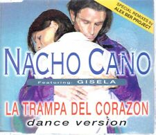 NACHO CANO LA TRAMPA DEL CORAZON GISELA CD SINGLE MECANO
