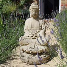 Meditation Buddha Stone Statue - Large Garden Sculptures