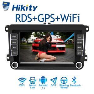 "2 DIN 7"" Autoradio Android GPS Navi RDS Pour VW GOLF 5 6 Passat Touran Jetta EOS"