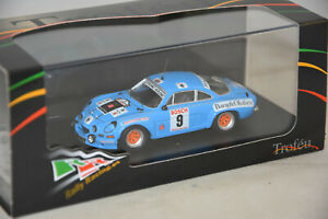Trofeu RRbe04 - Renault Alpine A 110 RALLYE YPRES 1975 NUSBAUMER N°9 1/43