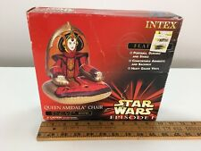 Star Wars Episode 1 Queen Amidala Inflatable Chair Game Room Mancave Raft NIB