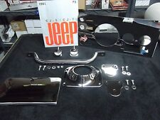 Jeep CJ dash, Jeep CJ stainless steel dash, CJ Laredo