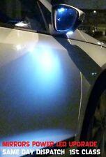 VW Scirocco Passat CC 2x W5W T10 Bombillas Led Luz Espejo Charco Cortesía actualización