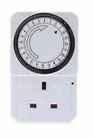 New Plug-in Timer - 24 Hour Programmable 3 Pin UK Main Wall Home Plug Socket