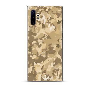 Skins Decal Wrap for Samsung Note 10 Plus Brown Desert Camo camouflage