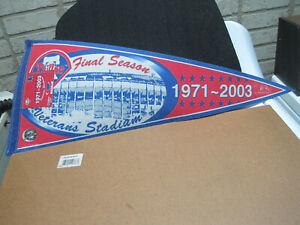 VINTAGE PHILADELPHIA PHILLIES 1971/2003 FINAL SEASON BASEBALL PENNANT 1218/2003