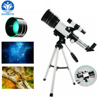 300/70mm Astronomical Refractor Telescope w/ Tripod  Night Vision for Star Moon