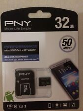 PNY 32GB Performance Micro carte mémoire SDHC - 50MB/s