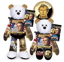 Zachary Taylor Dollar Coin bear #12 in series by Limited Treasures