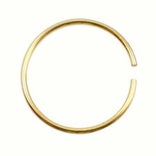 Thin Jewelry Surgical Steel Nose Hoop Ring Earring Body Piercing Studs Cartilage