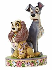Disney Traditions Lady and The Tramp Opposites Attract 60th Ann Figurine 4046040