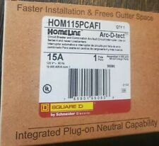 Square D Homeline Hom115pcafi Hom115pcafic 15a Plug On Neutral Afci New