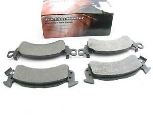 Friction Master MKD52S Front Disc Brake Pad Set - Semi-Metallic