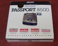 Escort Passport 8500 X50 Radar Detector w/blue display Excellent Condition