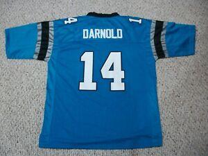 SAM DARNOLD Unsigned Custom Sewn New Carolina Blue Football Jersey Size S-3XL