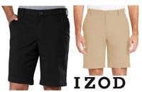 NEW!! Izod Men's Performance Ultraflex Waistband Non-Iron Stretch Shorts Variety