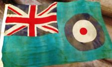 More details for british 1940 dated raf flag air ministry with raf insignia to center of flag