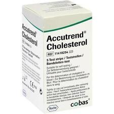 ACCUTREND Cholesterol Teststreifen 5St PZN: 1471641