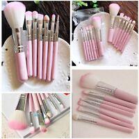 Pro Pink Womens Makeup 7pcs Brush Eye&Face Set Brushes Cosmetic Brushes Tools