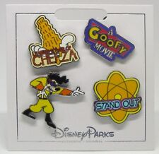 Disney Trading Pins Themed * GOOFY MOVIE  CHEEZA! * Carded NEW Booster Set of 4