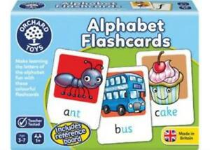 Alphabet Flashcards Colourful Game Orchards Toys OC024