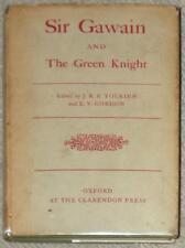 SIR GAWAIN & the GREEN KNIGHT ~ TOLKIEN ~ EV GORDON ~ VINTAGE 1960 OXFORD PRESS