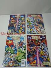 DC vs. Marvel - Marvel vs. DC Full Set 4 Issues 1 2 3 4 Versus D.C. VF to Mint!