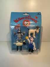 Wallace And Gromit Collectible Figures Vivid Imaginations Rare!! A Close Shave