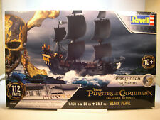 DISNEY PIRATES OF THE CARIBBEAN BLACK PEARL REVELL 1:150 SCALE PLASTIC MODEL KIT