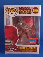 Funko Pop Marvel Zombie Daredevil #666 NYCC 2020 Shared Exclusive New