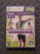 Your Shape: Fitness Evolved 2012 (Microsoft Xbox 360, 2011)